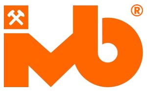 Logo Instytut Mechanizacji Budownictwa i Górnictwa Skalnego