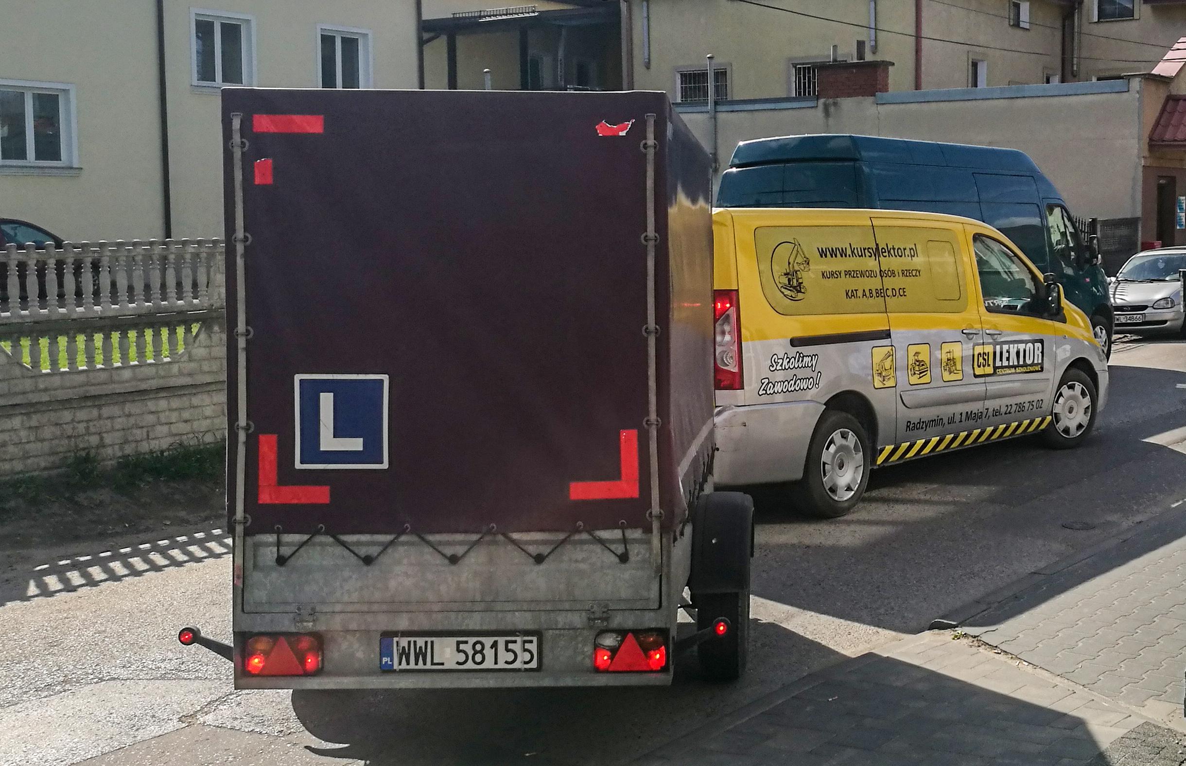 Prawo jazdy kat. B+E w gwarantowane 9 dni